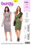 6411 Burda Pattern: Ladies Dress